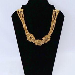 KATE SPADE~Knotical Short Necklace~14KT GOLD pl
